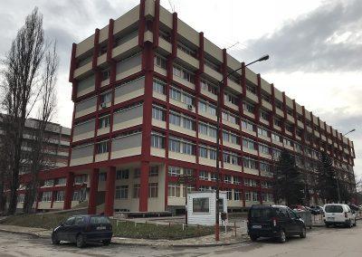Изпълнение на СМР за основно обновяване на ограждащите елементи на Блок 3 на ТУ-София