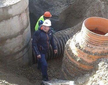 Водопроводна и канализационна мрежи на гр. Долна Митрополия